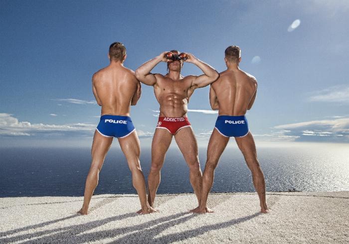 Bruno Rodriguez, Adam Fletcher and Dmitry Strigun • Male Models