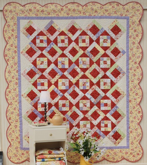 How to Finish a Quilt with Scalloped Borders