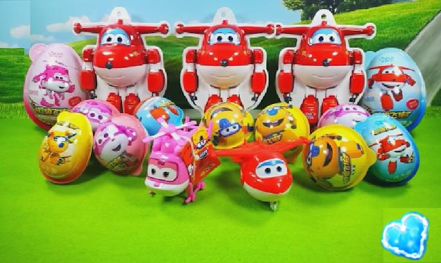 New Super Wings Surprise egg Toys-En yeni Harika Kanatlar Surpriz Yumurt...