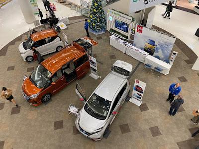 日産車両展示イベント in イオンレイクタウンkaze