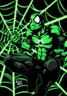 Green Lantern Spider-Man