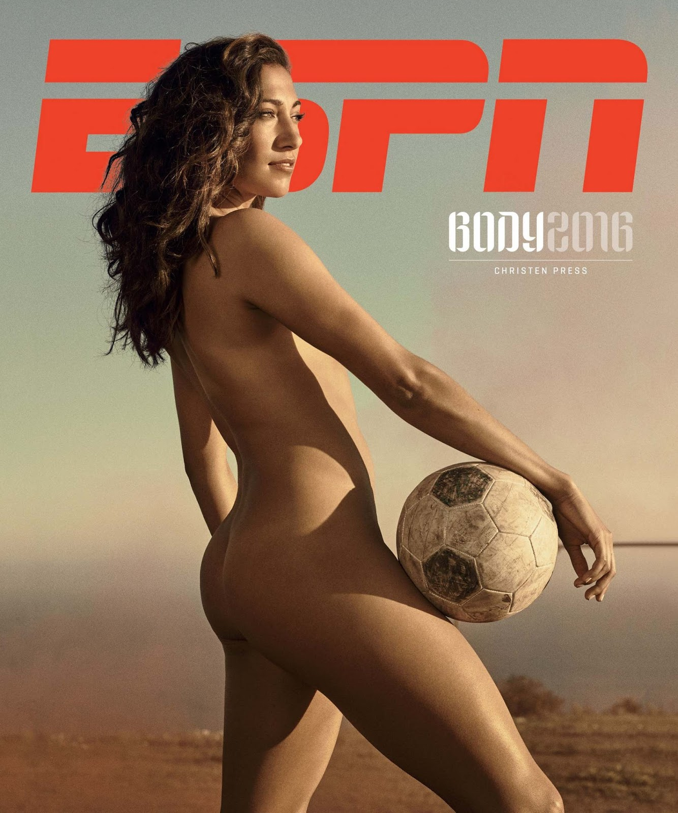 Christen Press bares all for ESPN Body Issue 2016