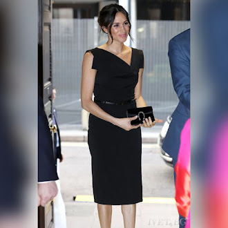 Αμάνικο μίντι μαύρο φόρεμα MEGAN