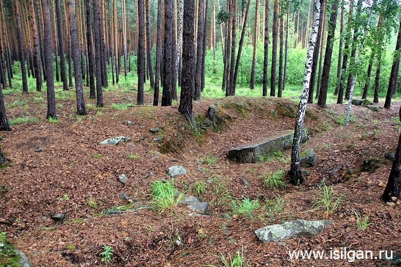 Озерская каменоломня. Город Озерск. Челябинская область