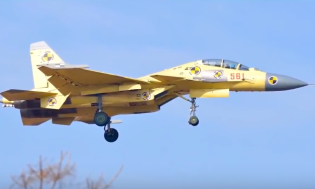 Military and Commercial Technology: Two-seat J-15 fighter jet