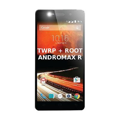 Cara Mudah Pasang TWRP dan Root Smartfren Andromax R 4G LTE