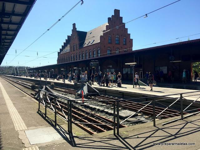 estación de trenes elsinor