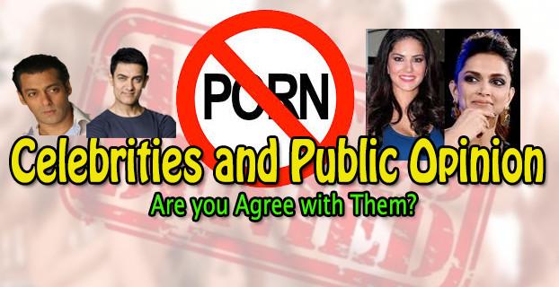 Celebrity Public Porn - Indian Government Ban Porn - Celebrities and Public reaction ...