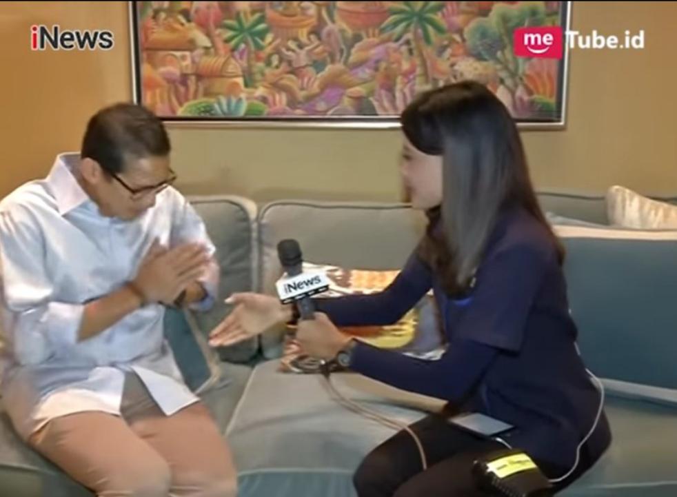 Di Balik Cerita Sandiaga yang Enggan Salaman dengan Presenter TV