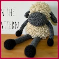 Graciosa oveja amigurumi