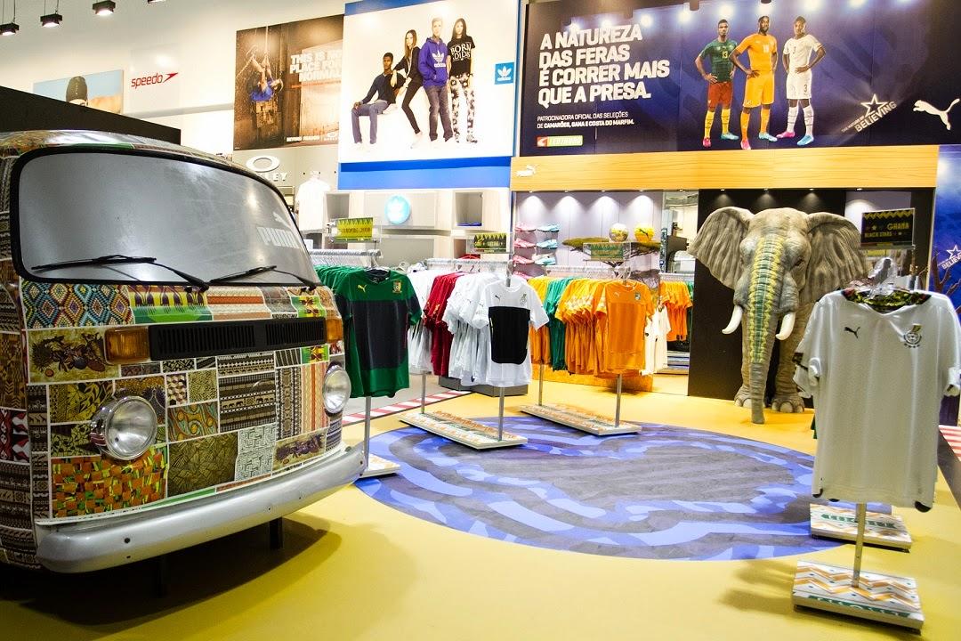 0a4936b45d094 A PUMA, marca alemã global de artigos esportivos, e a Centauro, maior rede  de varejo esportivo da América Latina, promovem ativações em pontos de  venda para ...