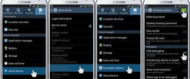 Cara Mudah root samsung galaxy j1 menggunakan PC - IME Android