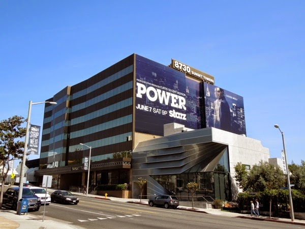 Giant Power season 1 billboard Sunset Strip