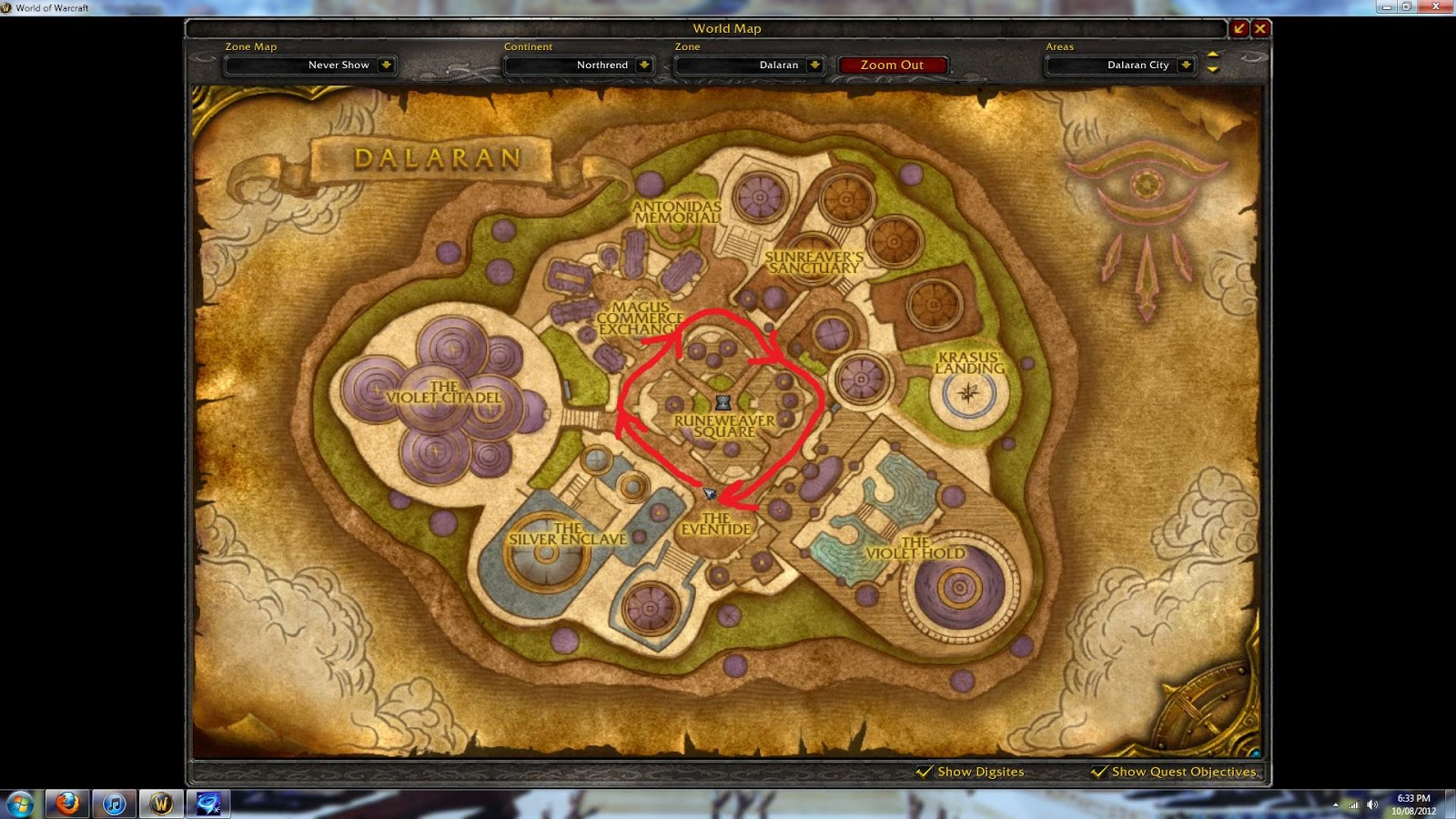 wow wotlk how to get to northrend horde