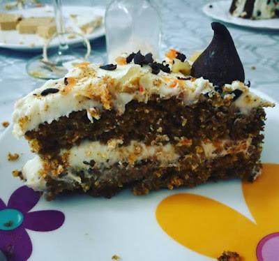 Tarta De Zanahorias (carrot Cake)