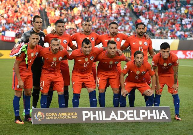 Formación de Chile ante Panamá, Copa América Centenario, 14 de junio de 2016
