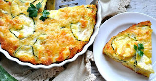 Delicious Zucchini Pie Slimming, Tested And Approved