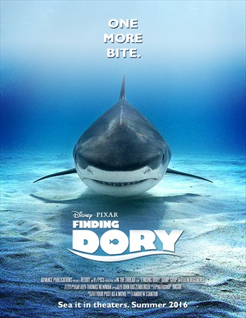 Finding Dory 2016 Dual Audio Hindi 720p HDRip 950mb
