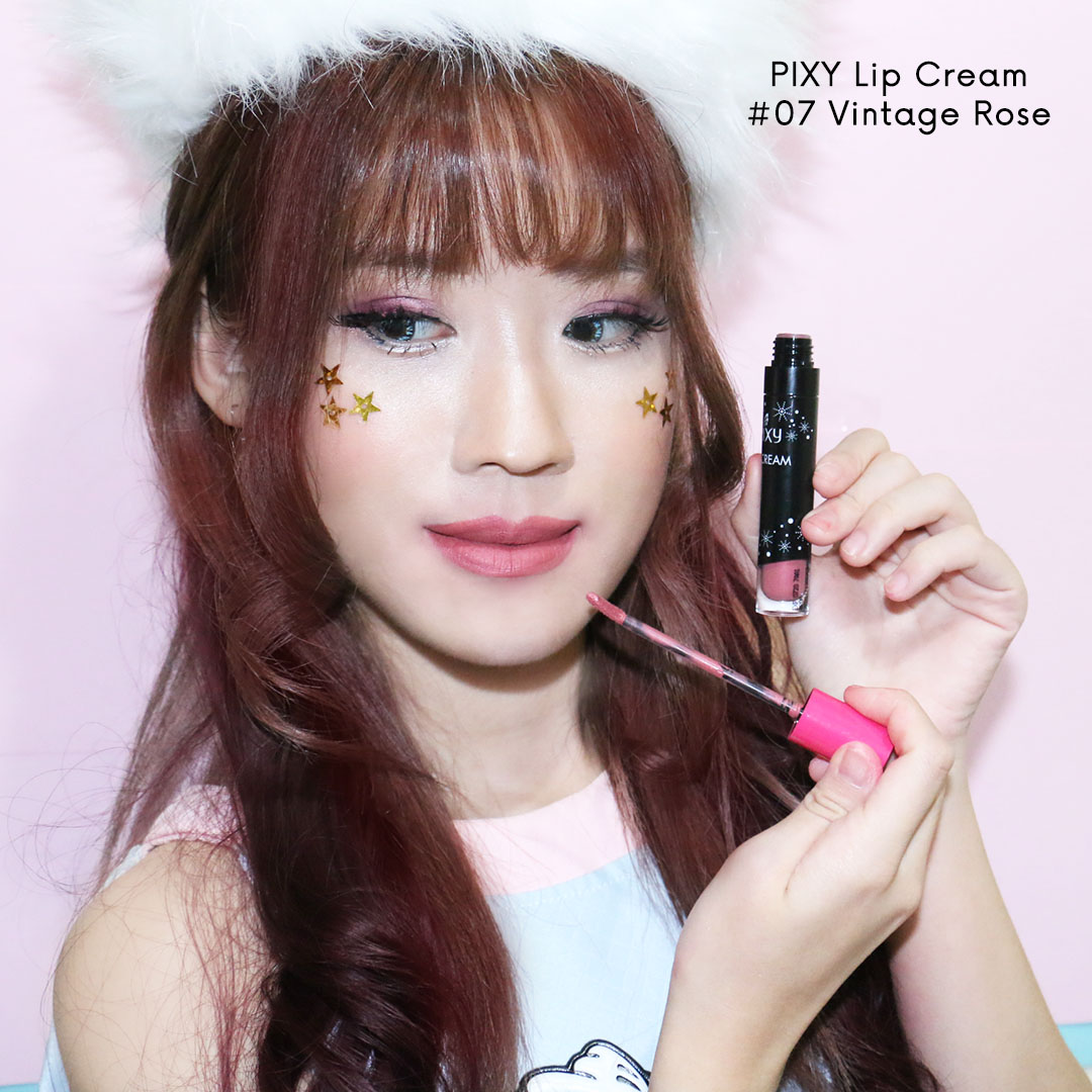 Baru Pixy Lip Cream All Colours Review Indonesia Beauty And Travel Eyebrow Brown Vintage Rose 07