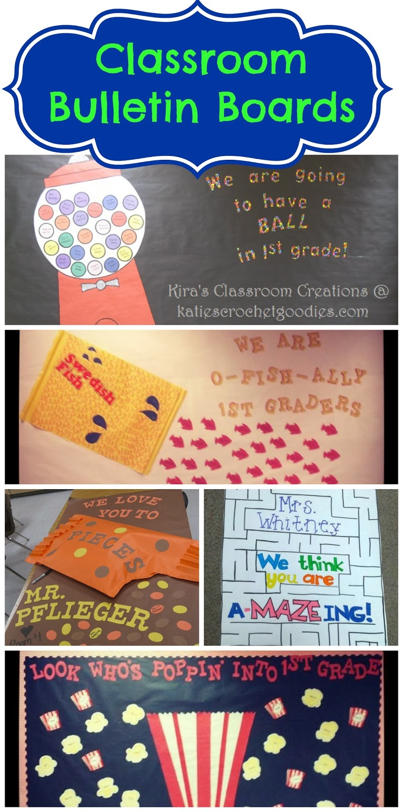 Classroom Ideas Bulletin Boards ~ Classroom bulletin board poster inspiration katie s