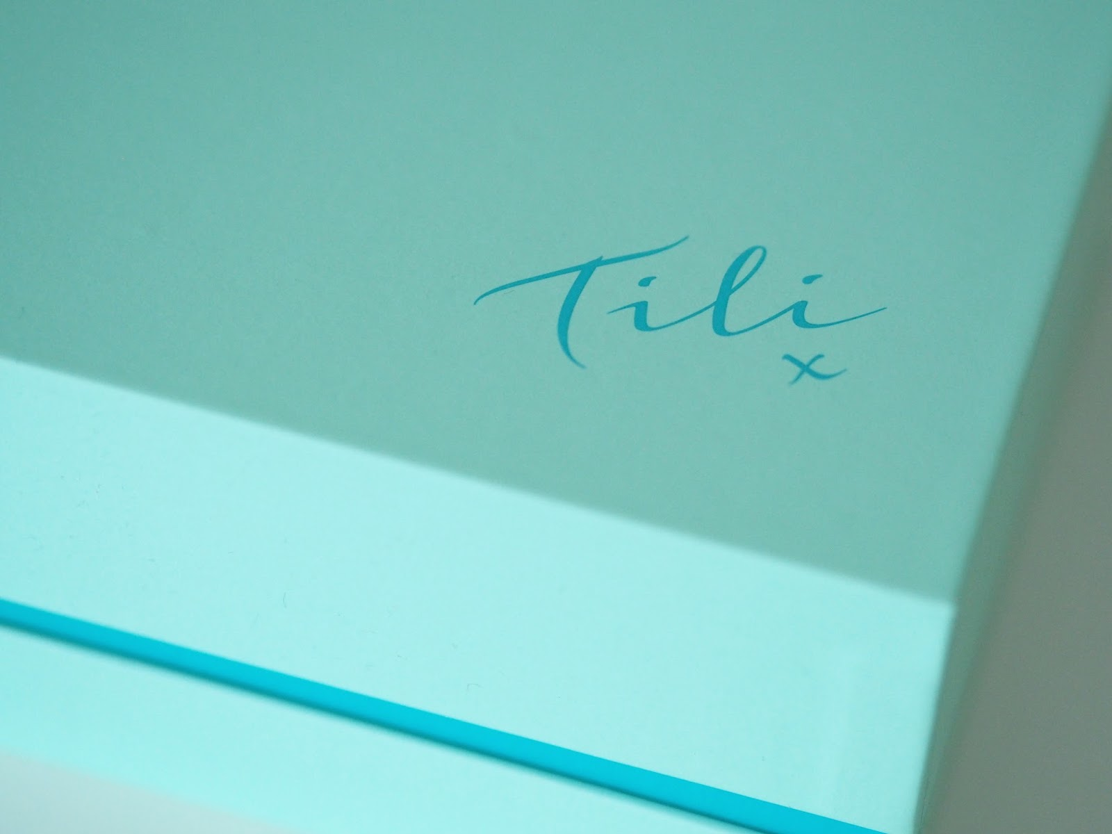 TILI beauty box review QVC skincare Priceless Life of Mine Over 40 lifestyle blog