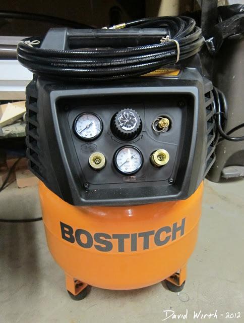 tools need for basement remodel, air compressor