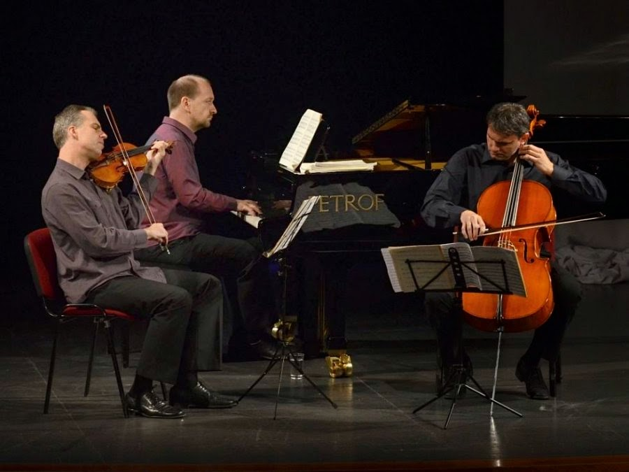 Trio Martinu in performance in the Czech Republic