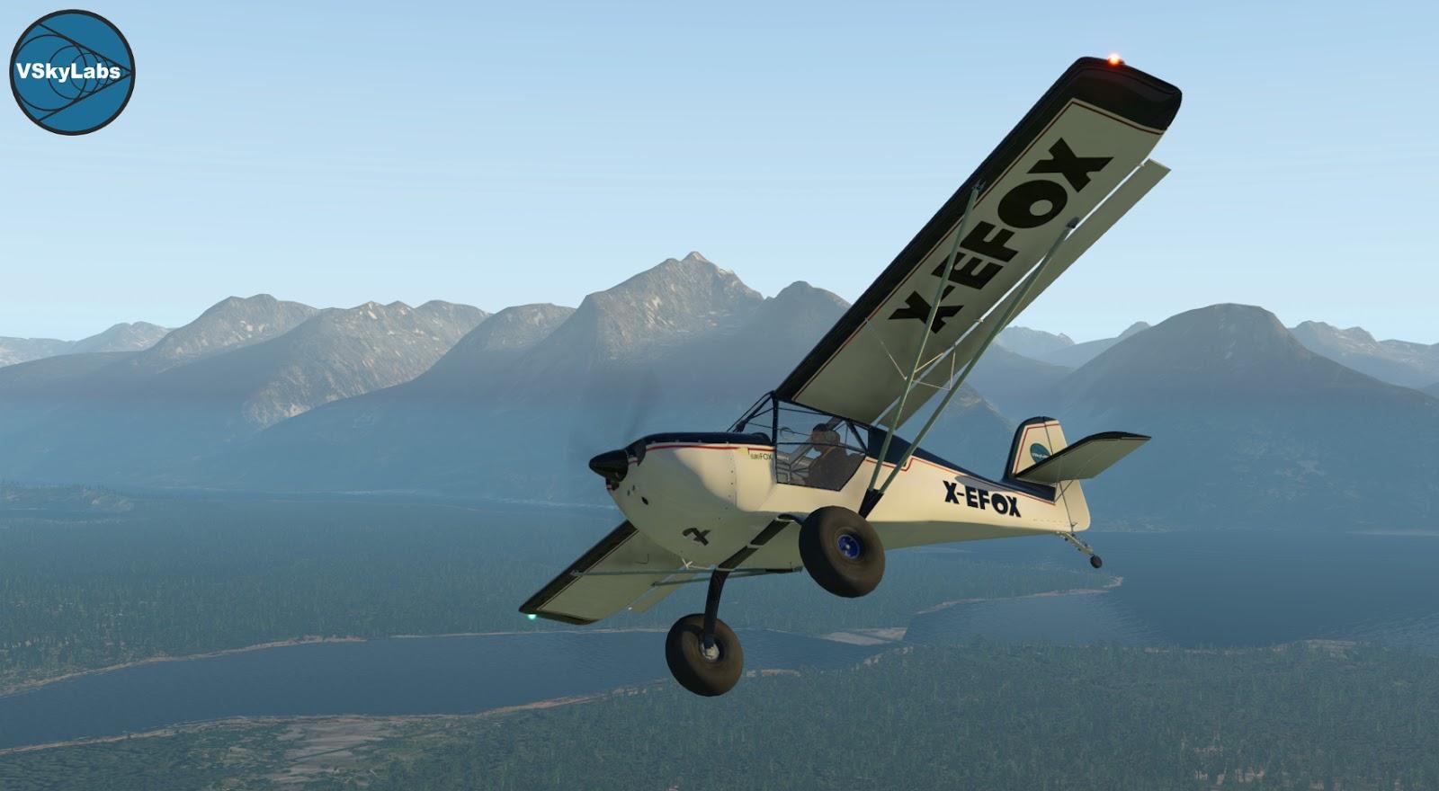 The Vskylabs Aeropro Eurofox