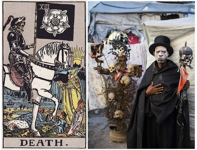 Des Artistes Haïtiens Transforment Le Jeu de Tarot Divinatoire En Scènes de Vie Réelles