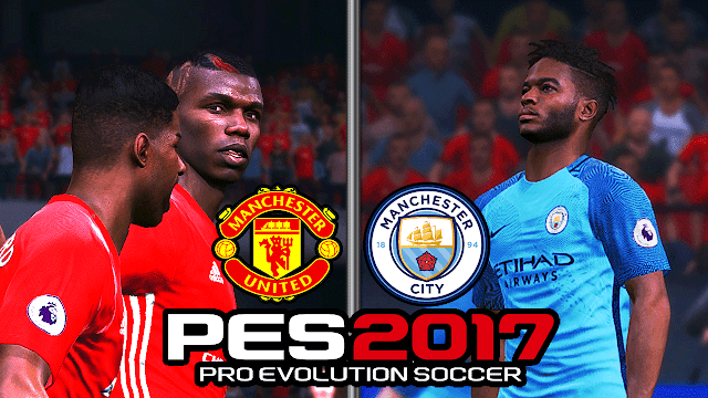 man city vs man united  - PES 2017