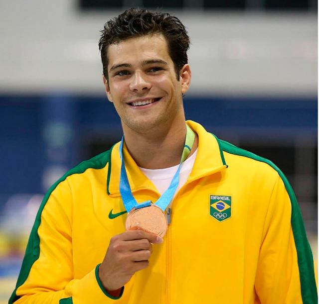 Marcelo Chierighini, nadador do Brasil é o muso dessa semana