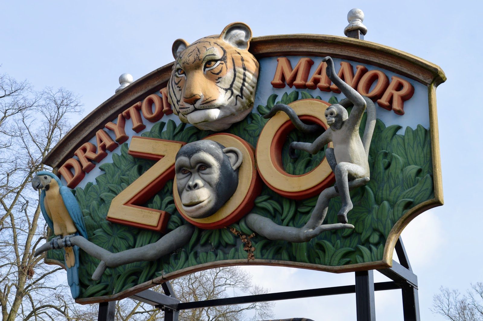 , A Family Fun Day Out at Drayton Manor