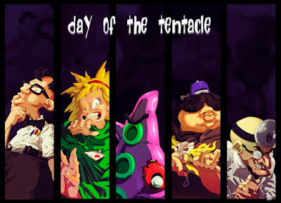 El día del tentáculo - fondo de pantalla