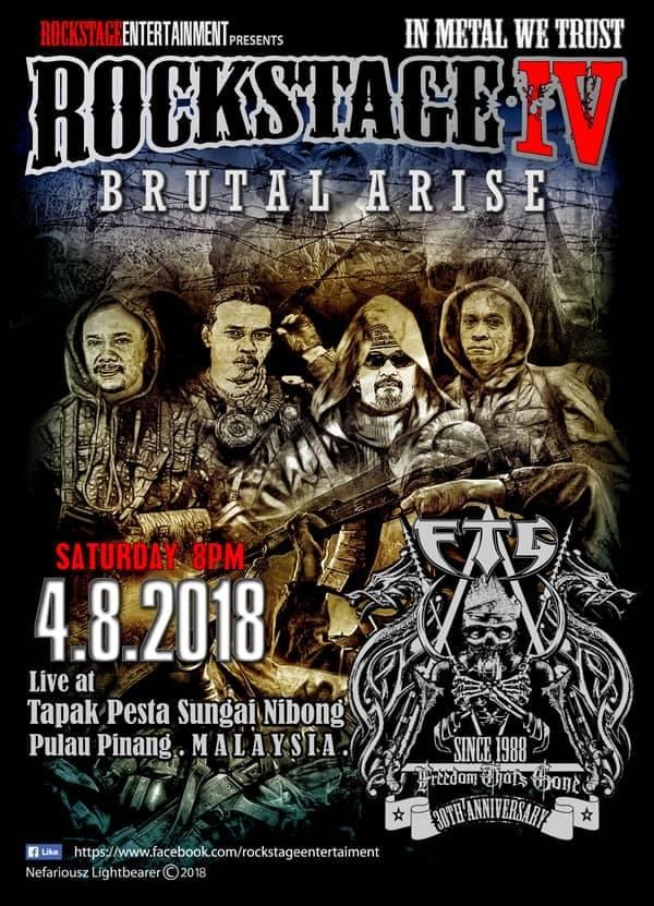 Event Konsert ROCKSTAGE IV | 4Ogos2018