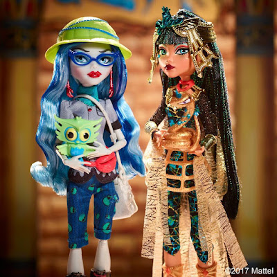 Monster High: Cleo de Nile & Ghoulia Yelps Exclusivo!!
