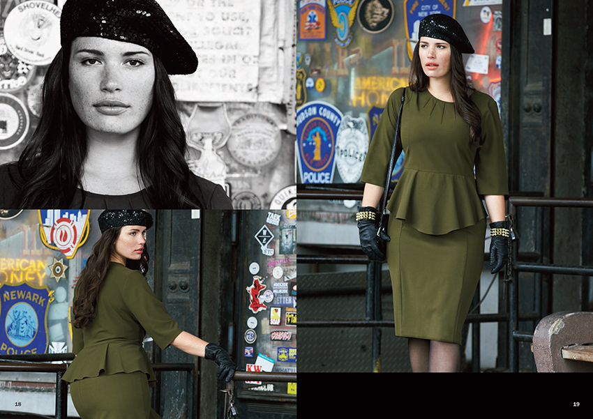 Anna Scholz Fall, Anna Scholz, Plus Size High fashion
