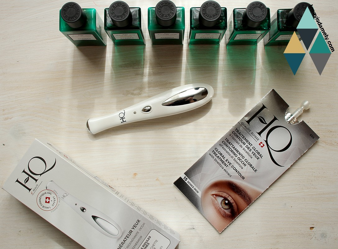revue beauté appareil régénérateur yeux anti poches soin hydratant HQ
