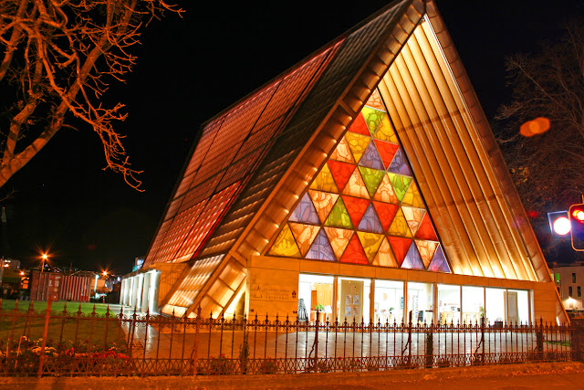 Christchurch, New Zealand Transitional Cathedral, or Cardboard Cathedral