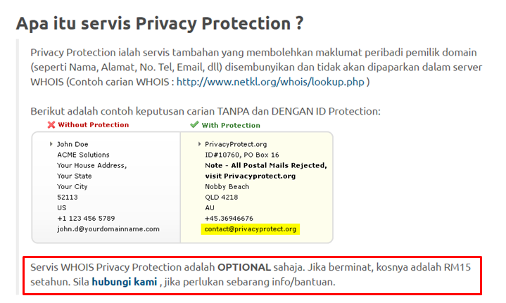 pentingnya privacy protection