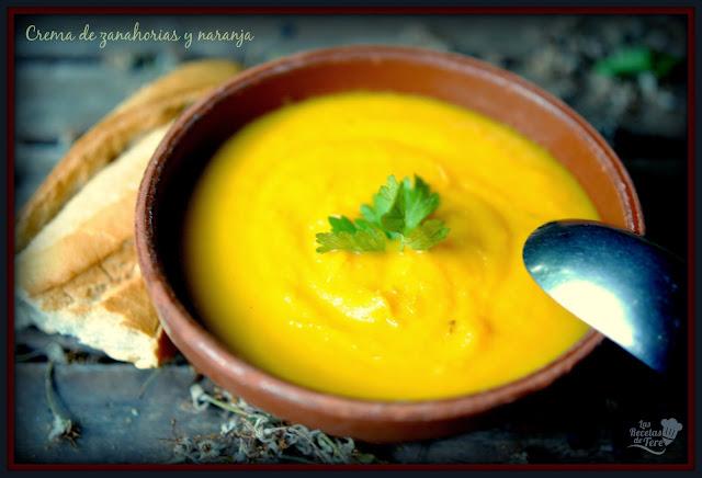 crema de zanahorias y naranja tererecetas 03