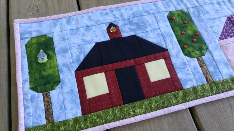 """/""""Home Is Where The Heart Is/"""" 2016 Row By Row Quilt Kit"""