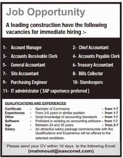 Sap dbm jobs in qatar