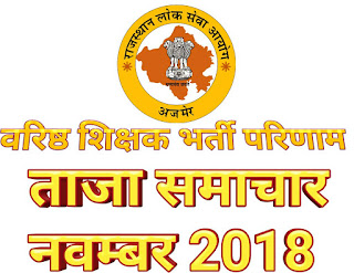 RPSC Result 2018 2nd Grade, Second Grade Result, News RPSC Second Grade Result