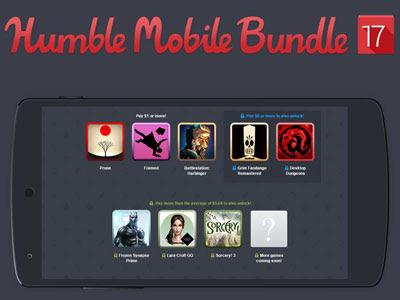 Consigue juegos para Android por un donativo