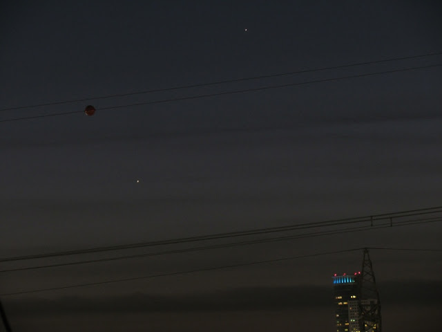Jupiter and Mercury