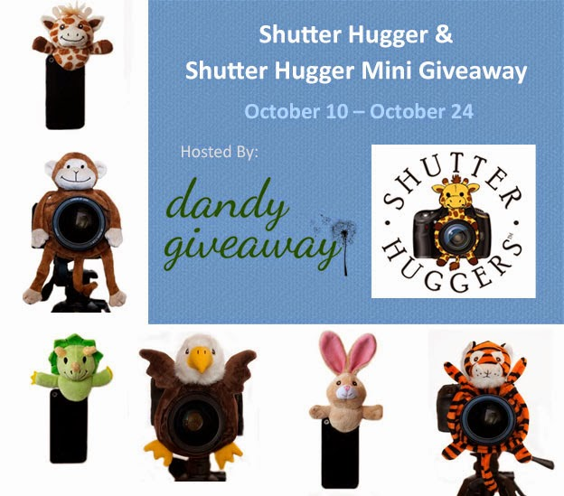 Enter the Shutter Hugger & Shutter Hugger Mini Giveaway. Ends 10/24.