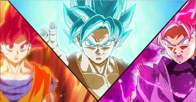 Super Saiyan God vs Super Saiyan Blue vs Super Saiyan Rose