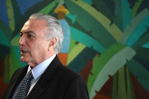 Justicia brasileña imputa a Temer por caso de corrupción