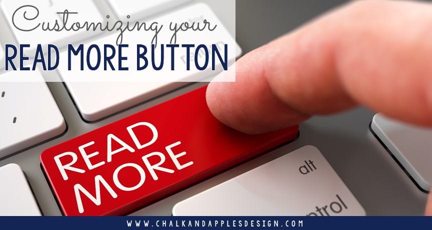 "How to customize the Blogger ""Read more"" button on traditional blogger templates 