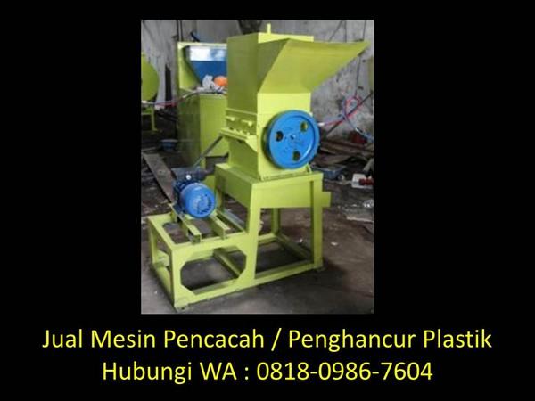 komponen mesin pencacah sampah plastik di bandung